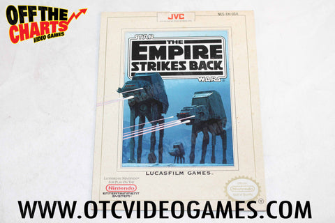 The Empire Strikes Back Manual - Off the Charts Video Games