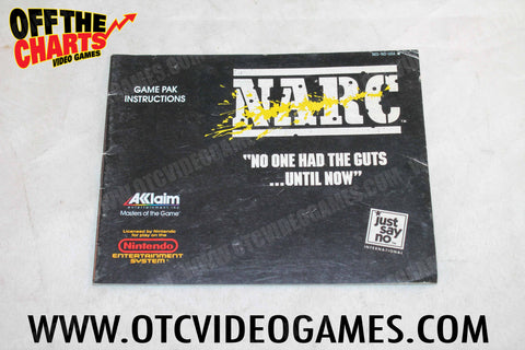 NARC Manual - Off the Charts Video Games