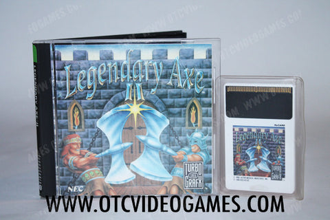 Legendary Axe II TurboGrafx-16 Game Off the Charts