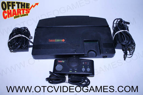 TurboGrafx-16 System TurboGrafx-16 Console Off the Charts