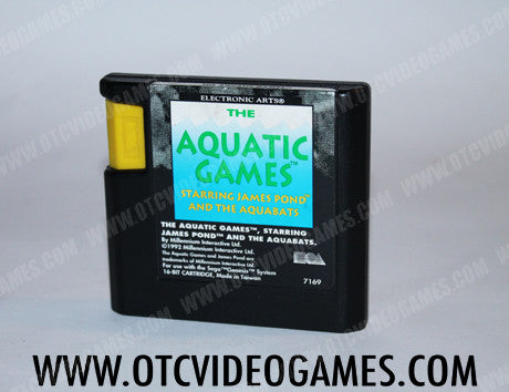 The Aquatic Games Sega Genesis Game Off the Charts