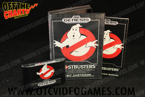 Ghostbusters Sega Genesis Game Off the Charts