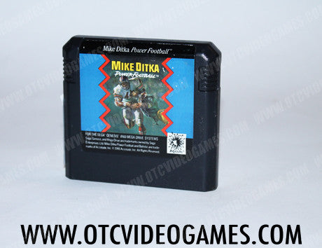 Mike Ditka Power Football - Off the Charts Video Games
