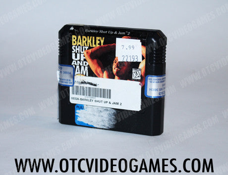 Barkley Shut Up and Jam Sega Genesis Game Off the Charts
