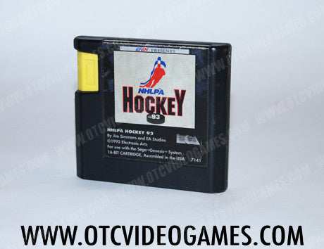 NHLPA Hockey '93 - Off the Charts Video Games