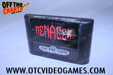 Menacer 6 Game Cartridge - Off the Charts Video Games