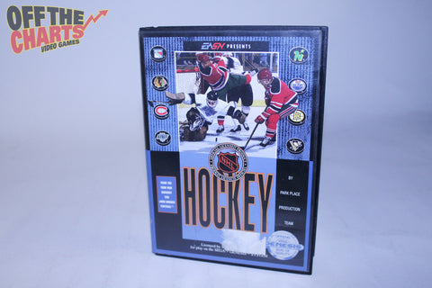 NHL Hockey Sega Genesis Game Off the Charts