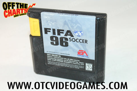Fifa Soccer '96 Sega Genesis Game Off the Charts