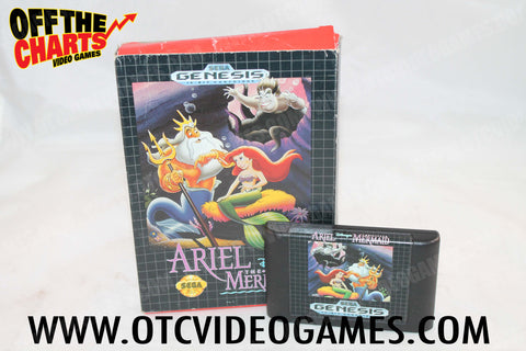 Ariel the Little Mermaid - Off the Charts Video Games