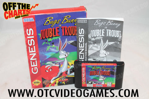 Bugs Bunny in Double Trouble Sega Genesis Game Off the Charts