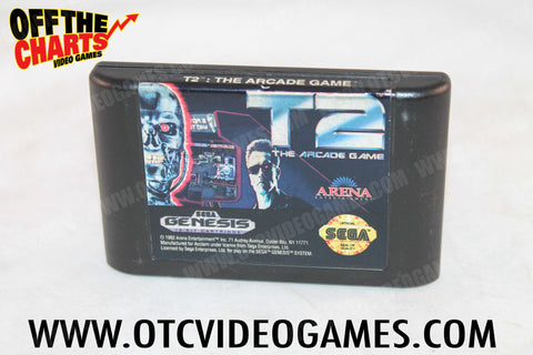 T2 The Arcade Game - Off the Charts Video Games