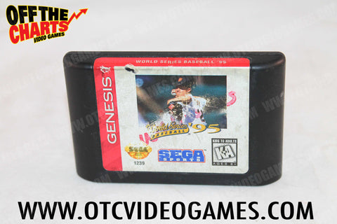 World Series Baseball '95 Sega Genesis Game Off the Charts