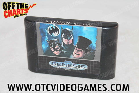 Batman Returns Sega Genesis Game Off the Charts