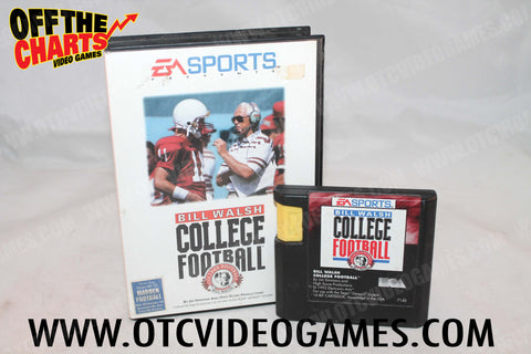 Bill Walsh College Football - Off the Charts Video Games