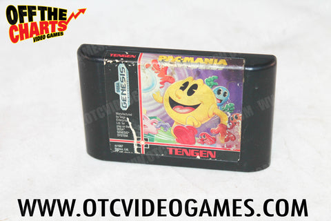 Pac-Mania - Off the Charts Video Games
