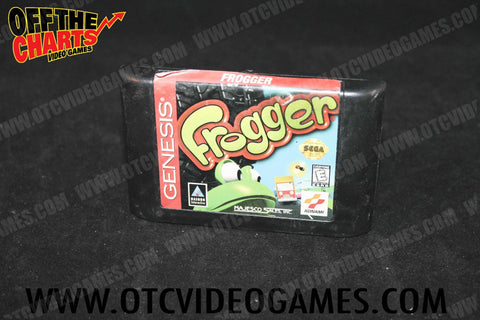 Frogger Sega Genesis Game Off the Charts