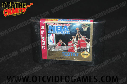 Tecmo Super NBA Basketball - Off the Charts Video Games