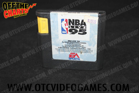 NBA Live '95 - Off the Charts Video Games
