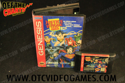 Justice League Task Force - Off the Charts Video Games