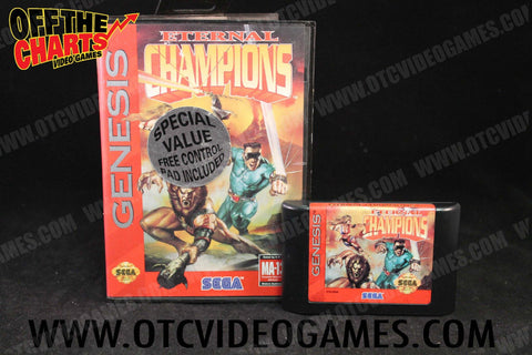 Eternal Champions - Off the Charts Video Games