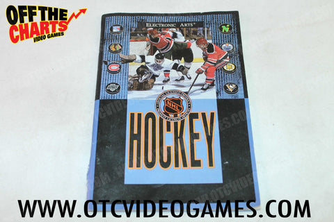 NHL Hockey Manual - Off the Charts Video Games
