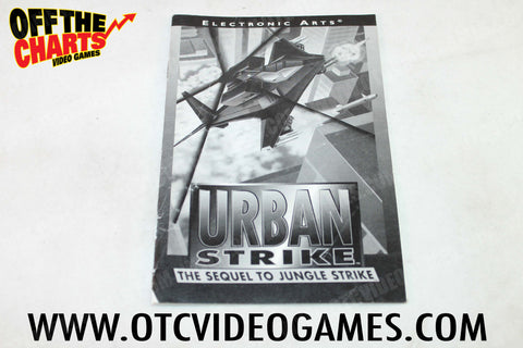 Urban Strike Manual - Off the Charts Video Games