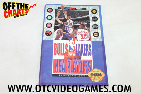 Bulls Vs. Lakers and the NBA Playoffs - Off the Charts Video Games
