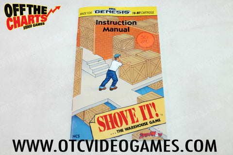 Shove It! The Warehouse Game Manual - Off the Charts Video Games
