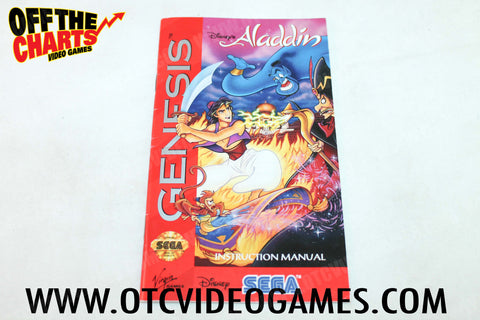 Aladdin Manual - Off the Charts Video Games