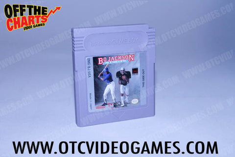 Bo Jackson: Two Games in One Game Boy Game Off the Charts