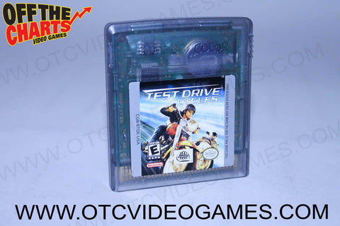 Test Drive Cycles Game Boy Color Game Off the Charts