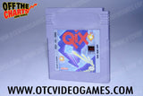 Qix Game Boy Game Off the Charts