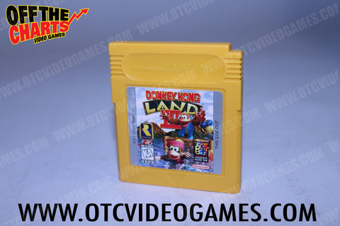 Donkey Kong Land 3 Game Boy Game Off the Charts