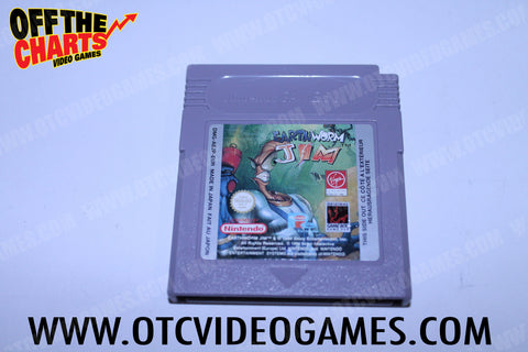 Earthworm Jim Game Boy Game Off the Charts