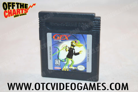 Gex Enter the Gecko Game Boy Color Game Off the Charts