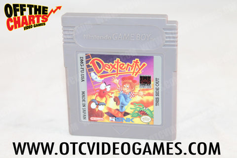 Dexterity Game Boy Game Off the Charts