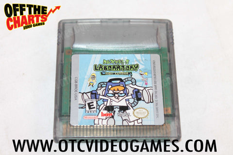 Dexter's Laboratory Robot Rampage Game Boy Color Game Off the Charts