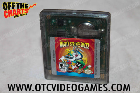Looney Tunes Marvin Strikes Back Game Boy Color Game Off the Charts