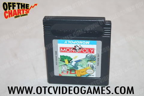 Monopoly Game Boy Color Game Off the Charts