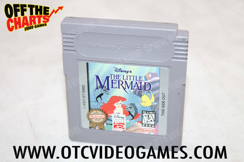 The Little Mermaid Game Boy Game Off the Charts