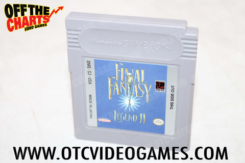 Final Fantasy Legend II Game Boy Game Off the Charts