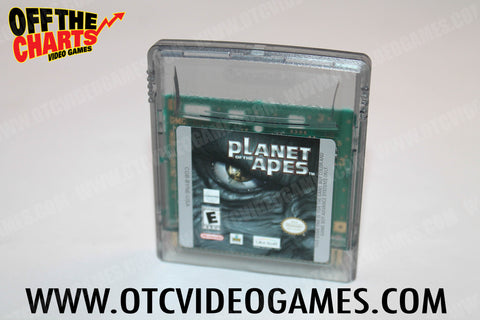 Planet of the Apes Game Boy Color Game Off the Charts