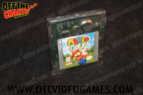 Mario Golf Game Boy Color Game Off the Charts