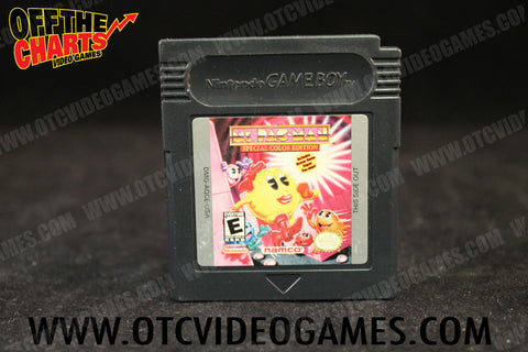 Ms. Pac-Man Special Color Edition Game Boy Color Game Off the Charts