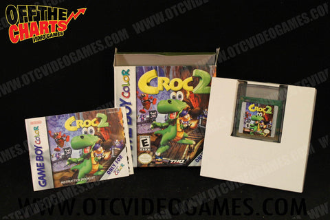 Croc 2 Game Boy Color Game Off the Charts
