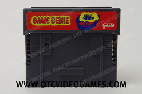 Game Genie Super Nintendo Game Off the Charts