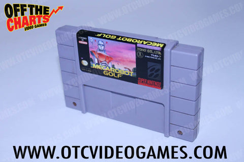 Meca Robot Golf Super Nintendo Game Off the Charts