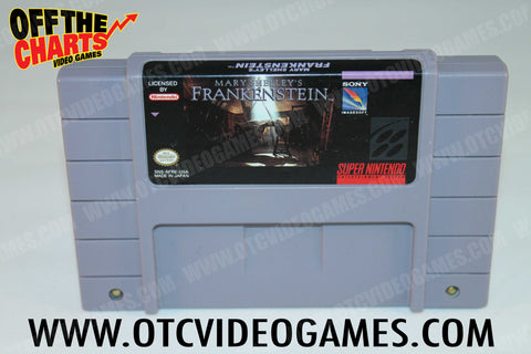 Mary Shelley's Frankenstein Super Nintendo Game Off the Charts