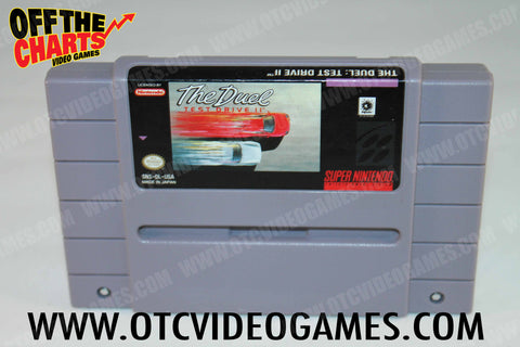 The Duel: Test Drive 2 Super Nintendo Game Off the Charts