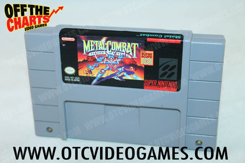 Metal Combat Super Nintendo Game Off the Charts
